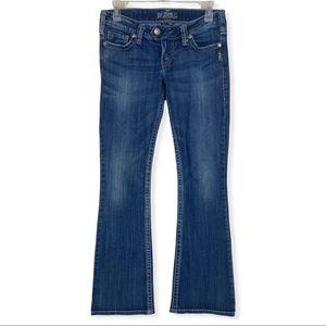 Silver Jeans Tuesday Boot Cut Medium Wash 27